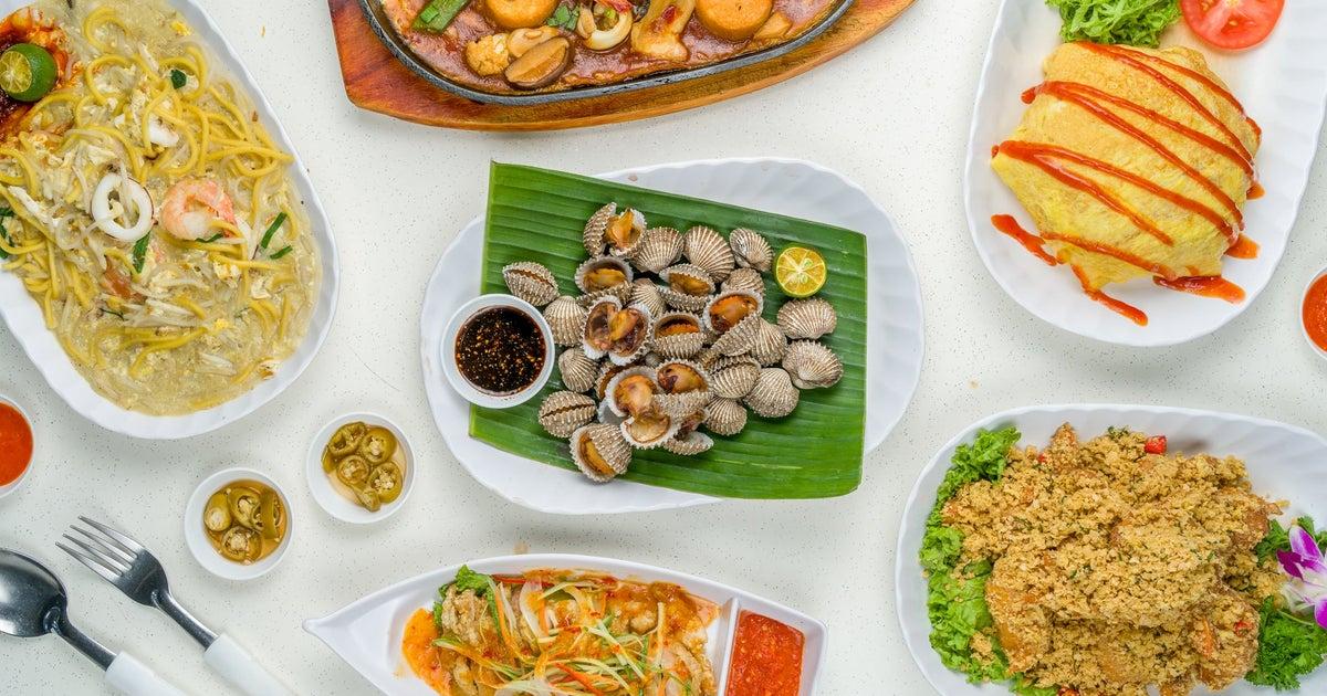 mr teh tarik seafood  bbq delivery from ang mo kio/bishan